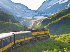 The best way to see Alaska is by rail, and this rail line proves it. Double-decker dome cars allow passengers to take in sights from multiple locations by stepping onto an outdoor balcony or settling in to a seat on the upper level's interior space. Operating mid-May through mid-September, the railroad travels between Anchorage and Fairbanks, with stops in Wasilla, Talkeetna and the 6-million-acre wild land of Denali National Park.