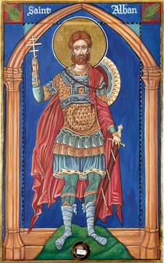 St. Alban Icon