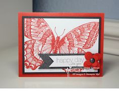 Go Stamp It!: Swallowtail card