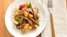 Gina's Beef-Vegetable Stir-Fry Medley