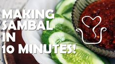 How to making sambal in 10 minutes!