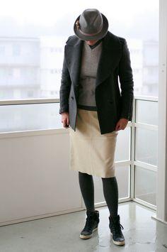 Tall Girl's Fashion // Wearing six shades of grey