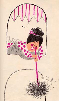This is the House Where Jack Lives – illustrated by Aliki Dies ist das Haus, in dem Jack lebt – illustriert von Aliki Vintage Illustration Art, Graphic Design Illustration, Retro Illustrations, Whatsapp Wallpaper, Book Wall, Painting For Kids, Children Painting, Mid Century Art, Estilo Retro