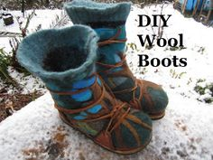 knowing how to make a warm pair of boots will be a skill that will be much appreciated by anyone who gets a pair.