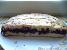 Фото приготовления рецепта: Быстрый пирог с ягодами - шаг №13
