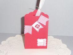 Kleine Geschenkbox,Gastgeschenk,Kommunion,Konfirma von Schönes aus Stempel und Papier auf DaWanda.com
