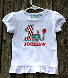 Circus Elephant Birthday Shirt, but in boys obviously!