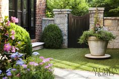 Designer Joel Kelly. Bennett Design & Landscape. Emily Followill photo. Atlanta Homes & Lifestyles.