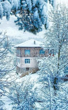 Bolu TURKEY the Good Friday are plenty of ☕️ Turkey Turkey Türkei c … - Karfreitag Winter Szenen, Winter Time, Winter Christmas, Winter House, Nature Landscape, Winter Landscape, Beautiful Places, Beautiful Pictures, Winter Wallpaper