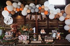 baby boy birthday party Enzo's Wild One First Birthday Party at Spicers Hiddenvale - Quince and Mulberry Studios Boys First Birthday Party Ideas, Wild One Birthday Party, First Birthday Decorations, Birthday Themes For Boys, Baby Boy First Birthday, Boy Birthday Parties, 30th Birthday, Party Decoration, First Birthdays