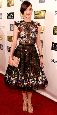 Marion Cotillard - Critics' Choice Awards - Zuhair Murad dress