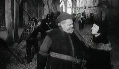 Orson Welles en la localidad de Soria Calatañazor en la película Campanadas a medianoche (Falstaff)