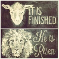 The Lion of Judah, Lamb of God, Jesus Christ has finished it. Art Journaling, Lion And Lamb, Tribe Of Judah, Jesus Is Lord, King Of Kings, Jesus Loves, Jesus Has Risen, He Is Risen, Bible Scriptures