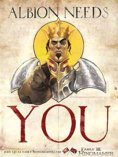 Fable 3 Poster Would make a great T-shirt.