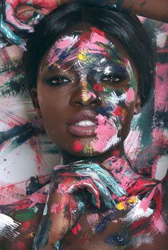 "blackandbrownlove: ""Them: What's your Favorite color? Me: Melanin. Black Girl Art, Black Girl Magic, Art Girl, Creative Portrait Photography, Creative Portraits, Art Photography Women, Photoshoot Themes, Photoshoot Inspiration, Portrait Photo Original"