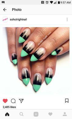 Cute fade nails