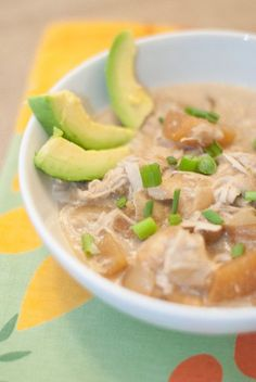 "White Chicken ""Chili"" (AIP/Paleo): a dairy free, gluten, grain, egg, nightshade, sugar nut and seed free recipe"