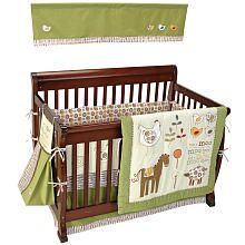 Beansprout With A Moo Moo 6-Piece Crib Bedding Set