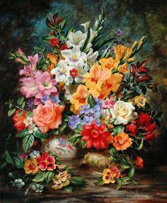 Garden Flowers of August by Albert Williams