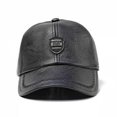 [FLB] Winter Baseball Caps Men Faux Leather Snap Back Hats For Men Cas - chicmaxonline Baseball Caps, Leather Baseball Cap, Baseball Anime, Baseball Gloves, Baseball Cookies, Easton Baseball, Giants Baseball, Baseball Mom, Leather