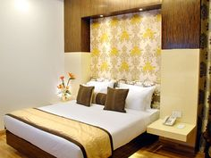 subtle colors for the rooms giving a calm effect.  Make the best of your stay in a cheap luxury hotel. http://www.jivitesh.com/blog/a-snug-little-retreat-in-new-delhi