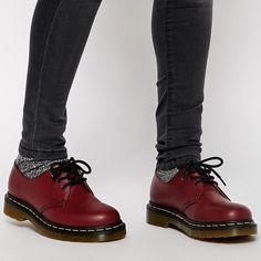 Dr. Martens 1461 Cherry Red 3 eye Dr Martens leather shoe. Iconic and in perfect condition. Never worn. UK 5/US 7 Make me an offer if you'd like ☺️ Dr. Martens Shoes Flats & Loafers