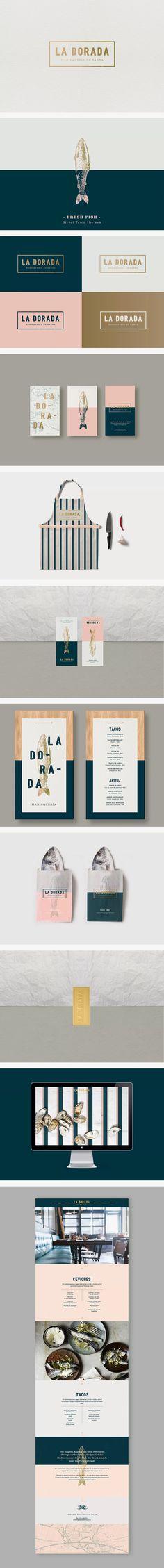 La Dorada brand identity | design by Bunker3022