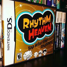 On instagram by gex136 #retrogames #microhobbit (o) http://ift.tt/1oBLCOI prefer the one on the Wii. #rhytthmheaven #NDS #nintendods #Nintendo #ninstagram #nintendolife #nintendopics #nintendostuff #retrocollective #retrogamer #retrogaming #gameaddict #gameroom #retro  #videogames #videogamecollector #videogamecollection #games #gamer #gaming #instagamer #photooftheday #instagramhub #jeddah #saudiarabia #ksa #Gex136
