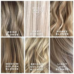 My blondes are chameleons! I always let them know, we can change your color…