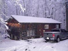 Bonnie Brae Cabin in the winter!