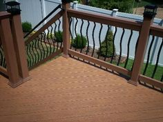 Decorative Balusters for Deck in Ballwin, Missouri