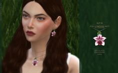 Alf-si | Followers Gift: flowers (part 2). new meshes; 1...