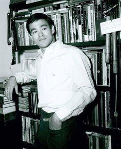 Bruce Lee - He was an avid reader. He had a vast library of books and loved scouring the bookshops for more. He not only had a appetite for books on martial arts, but he also devoured books on the personal growth writers of his day, like Napoleon Hill, Norman Vincent Peale and Clement Stone. - - http://lifecoachesblog.com/2006/09/26/what-you-didnt-know-about-bruce-lees-kick-ass-success-2/