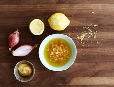 Dijon Vinaigrette with Lemon and Shallot