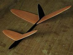 Outdoor Pusher Glider - completed model photo