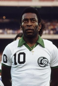 Pelé joined the New York Cosmos in 1975; he played on the team until retiring for good in 1977.