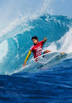Gabriel Medina... in Fiji... Pinterest: ૐ @brunoturcatto ૐ