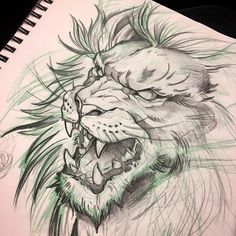 WORK! #red9ine #red9inetattoos #red9inetattoocompany #lion #liontattoo#liontattoos