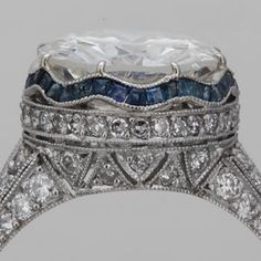 Art Deco Ring Settings - FayCullen.com