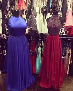 Make a stunning arrival at prom with one of these two beautiful Sherri Hill dresses that just arrived TODAY! And don't forget we make every client feel at ease with our amazing layaway plan and Prom Registry!#allaboutthedress #prom2k17 #greatprices #aatd http://ift.tt/2gHJoPb - http://ift.tt/1HQJd81