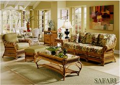 High Quality And Unique Safari Indoor Rattan Sunroom And Living Room  Furniture | 9010 By Beachcraft