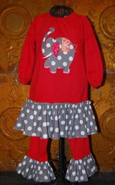 Great for Alabama Football too! Alabama Crimson Tide  Houndstooth Children's Clothing