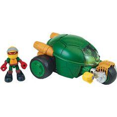 Teenage Mutant Ninja Turtles Stealth Cycle with Raph
