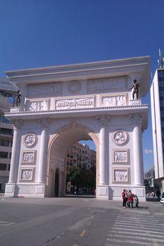 Porta Makedonija, Skopje, Makedonija