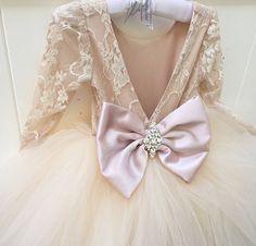 LILIANA-vestido Florista encaje vestido por IsabellaCoutureShop