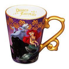 Disney Fairytale Designer Collection Mug, Ariel and Ursula