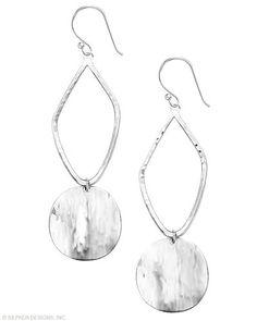 Spoonful of Silver Earrings, Earrings - Silpada Designs www.mysilpada.com/dawn.radtke