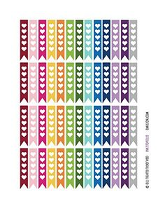 Monthly Planner Stickers Heart Rainbow Flags Stickers Planner Labels Compatible with Erin Condren Vertical Life Planner INKtropolis http://smile.amazon.com/dp/B01776DV8M/ref=cm_sw_r_pi_dp_mS5Rwb161W5PS
