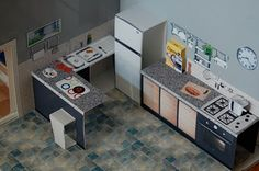 http://www.ikeahackers.net/2010/04/pop-up-paper-ikea-house.html