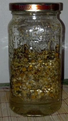 Chamomile Tincture - This herb is used internally for indigestion and ulcers, pain relief for menstrual cramps, arthritis, and is an effective sedative.